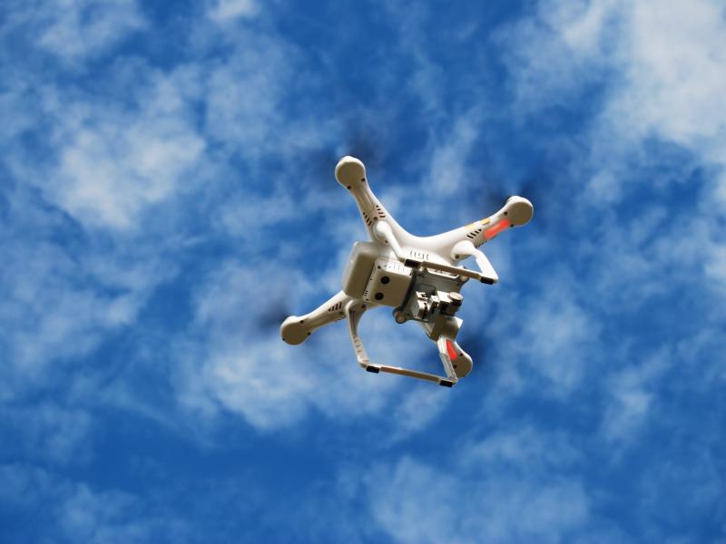 Drones usados para combater a malária