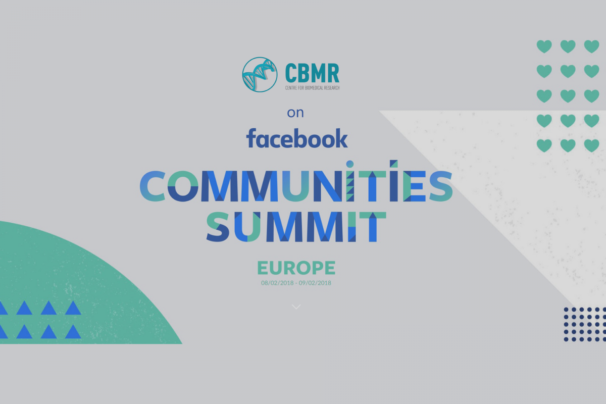 CBMR seleccionado para o Facebook Communities Summit