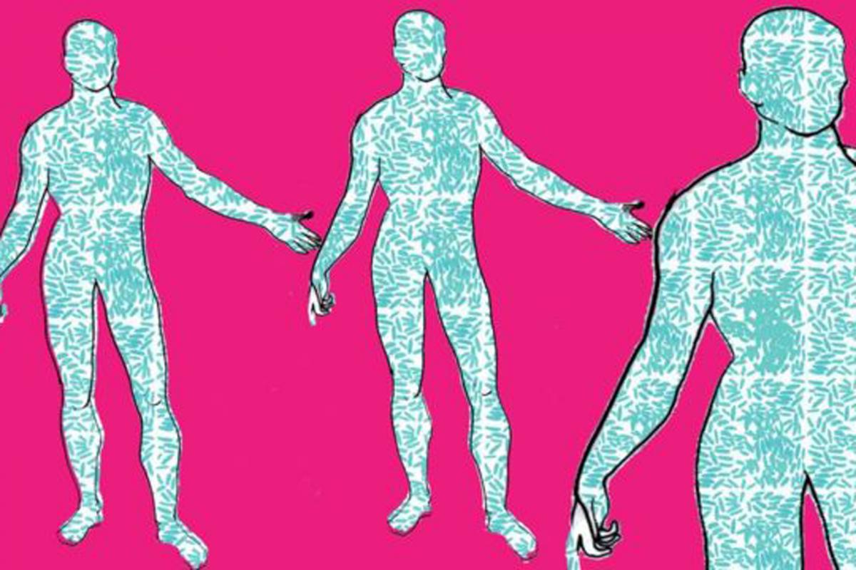 Mais de metade do nosso corpo não é humano