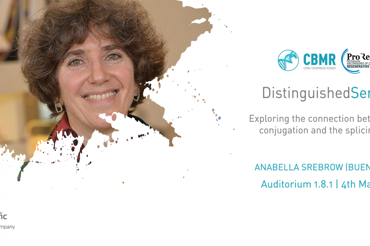 Distinguished Seminars com Anabella Srebrow