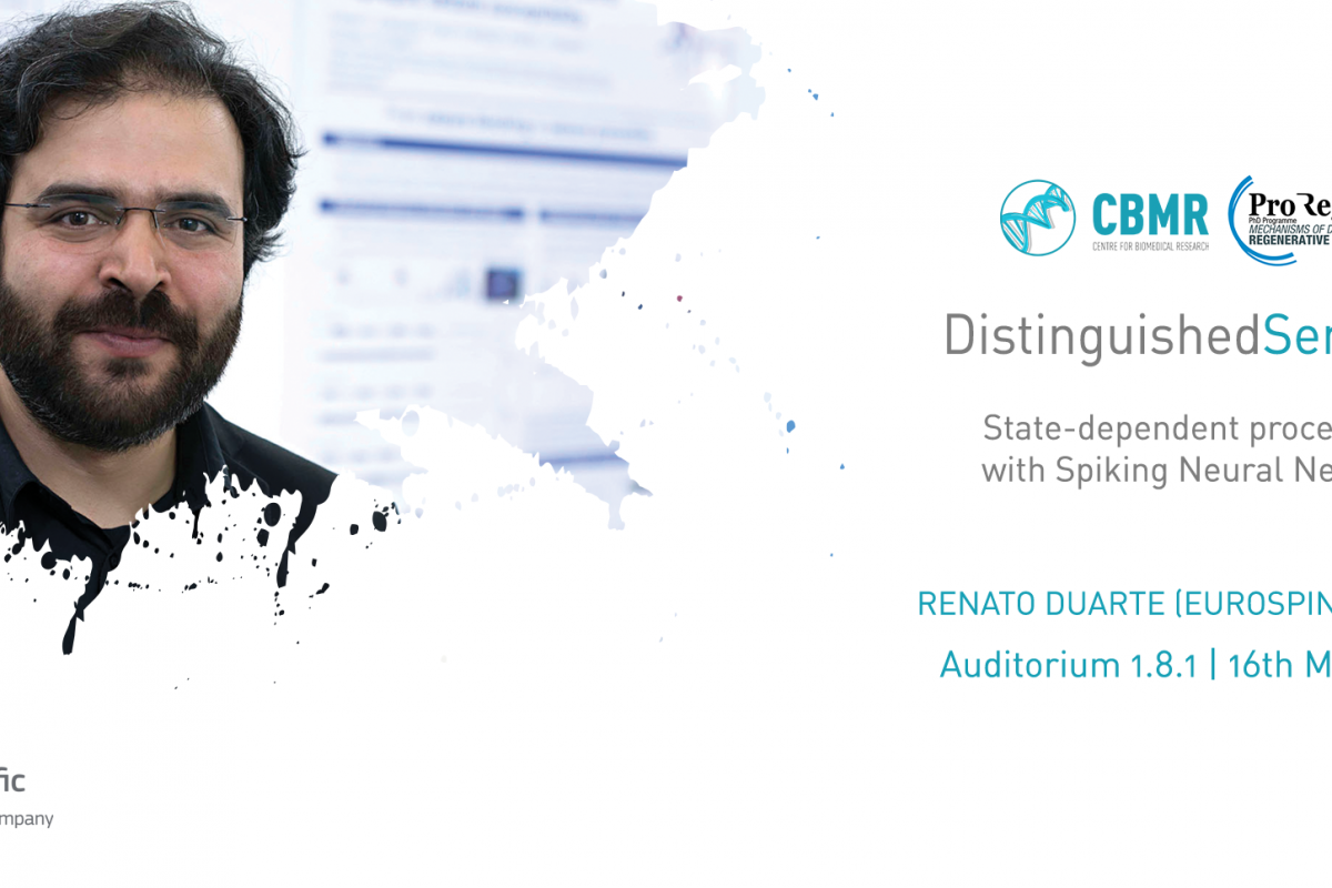 Distinguished Seminars com Renato Duarte